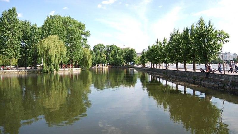 Канал Переселенец — Тернопіль Парк імені Тараса Шевченка