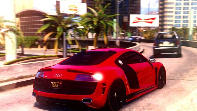 ULTIMATE REALISTIC GRAPHICS MOD IN GTA 5 GTA V ENB