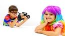Fındık ailesi çocuk dizisi. Mikail fotoğrafçı oluyor