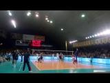 Последний розыгрыш в матче «Белогорье» – «Зенит-Казань» - 3:2