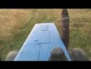 На тракторе Беларус