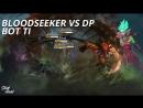 Bot TI Bloodseeker vs Death Prophet lvl 5