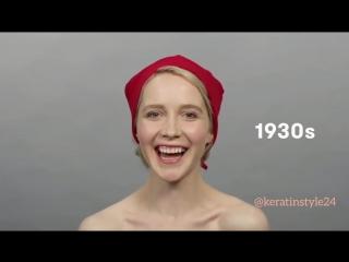История женских стрижек и причесок за 100 лет.