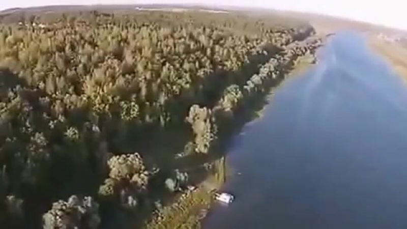 A bird's eye view of Oka river RUSSIA LGBT TRAVELS © Copyright