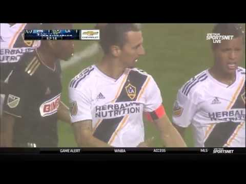 Zlatan Ibrahimovic drops a dime and drills a goal against the Union