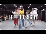 1Million dance studio Left To Right - Marteen / Minyoung Park Choreography