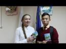 Вручение личной книжки волонтера Еравнинского района