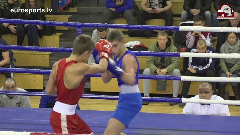 Fight 6 RIGA OPEN 2017 RealBoxingShow