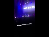 Demi Lovato performing Sorry Not Sorry at Emo Nite in Los Angeles, CA
