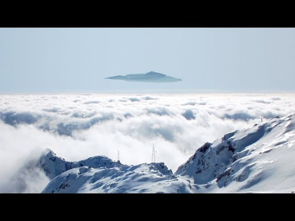 Huge UFO over the mountains of AUSTRIA March 2018