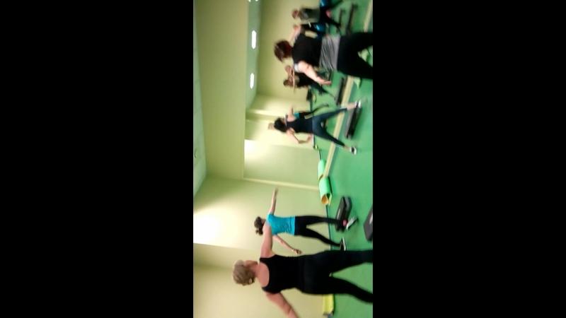любимые тренировки с инструктором Айгуль