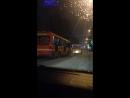 Гонки автобусов на проспекте 50 лет Октября