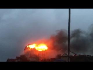 Пожар в Сочи | видео от подписчика vkuschevke | Эксклюзив