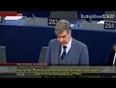 Marcel de Graaff Die Zukunft der EU wird islamisch sein EU Parlament Deutsche Untertitel
