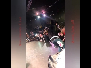 Les Twins performance at Tokyo Theater Athens Greece 2/15/2018 @nick_marianos IG Live ?