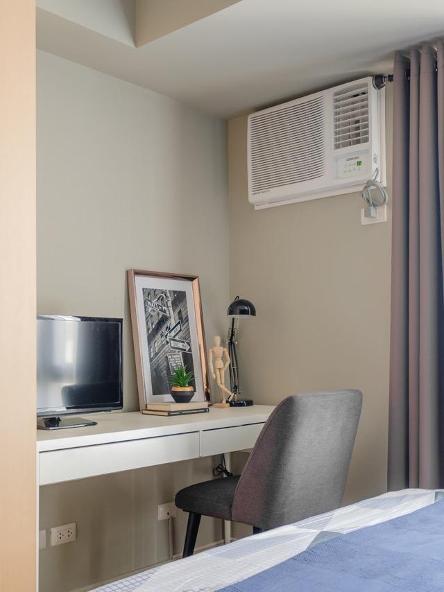 Интерьер квартиры-студии 35 м, Филиппины.