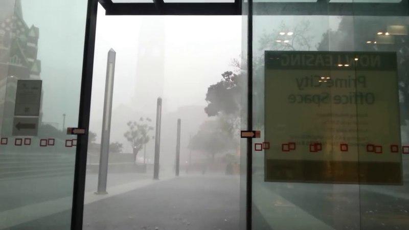 Intense Brisbane Hail Storm 11 27 2014