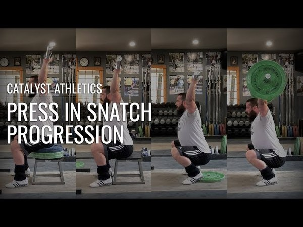 Press in Snatch (Sots Press) Mobility Progression - Catalyst Athletics Olympic Weightlifting