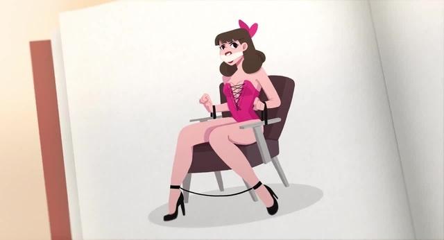 Tabook | cute bondage cartoon | animated film