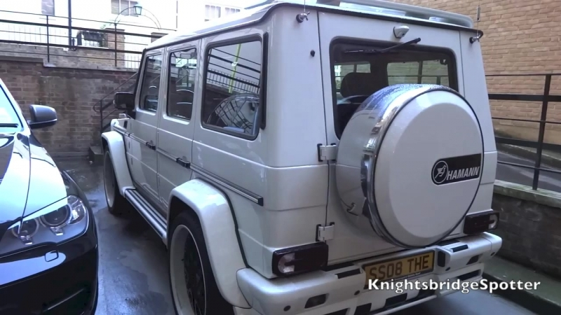 Arab Mercedes G55 AMG Hamann Typhoon THE BOSS - Walk Around