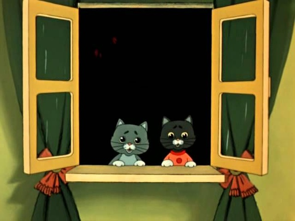 Тётя тётя кошка - (из м/ф Кошкин дом)