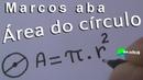 ÁREA DO CÍRCULO - Geometria Plana - Aula 01
