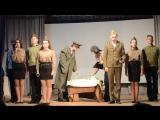 Выступление на военно-историческом конкурсе (МБОУ