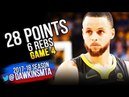 Stephen Curry Full Highlights 2018 WCF GM4 Golden State Warriors vs Rockets - 28 Pts! | FreeDawkins