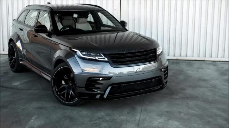 Новый LUMMA CLR GT Range Rover Velar