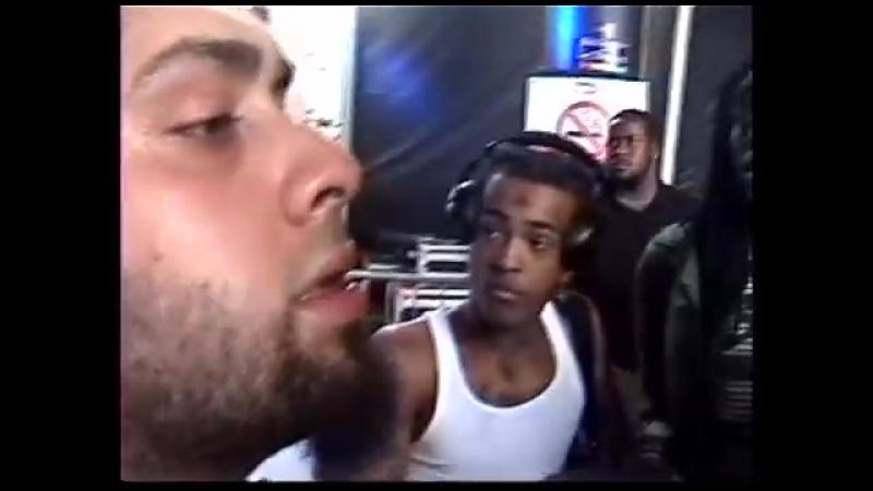 VHS-съемка выступления XXXTentacion на фестивале Rolling Loud.