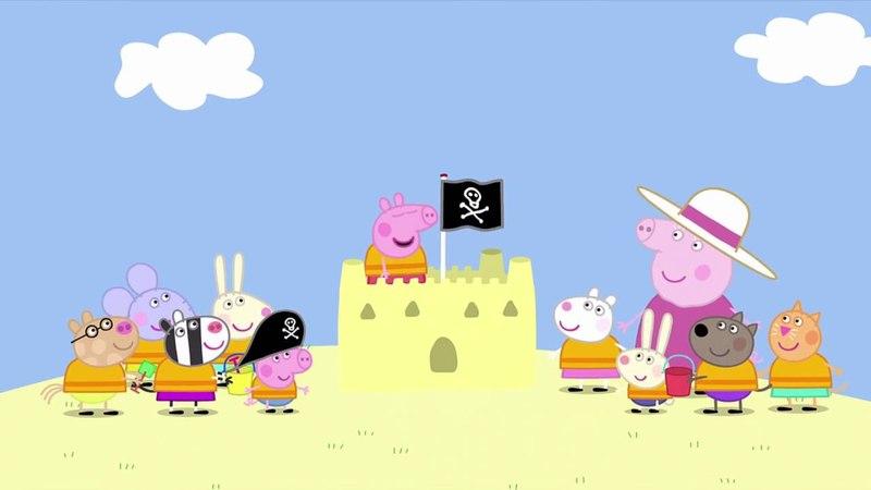 Peppa Pig - Pirate Island (23 episode / 2 season) [HD]