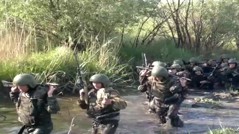 Спецназ РОСИЧ - Краповые береты марш 15км