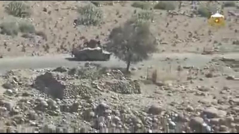 Афганистан.Засада талибов на конвой ANA (местные силы безопасности)