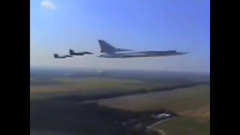 Аэродром Прилуки Украина,184 й Гв ТБАП,Август 21, 1997 (1)