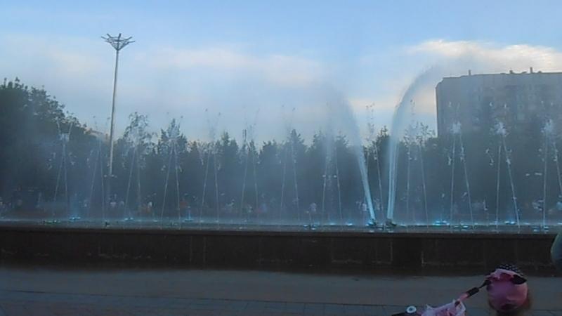 поющие фонтаны Усть-каменогорск 5