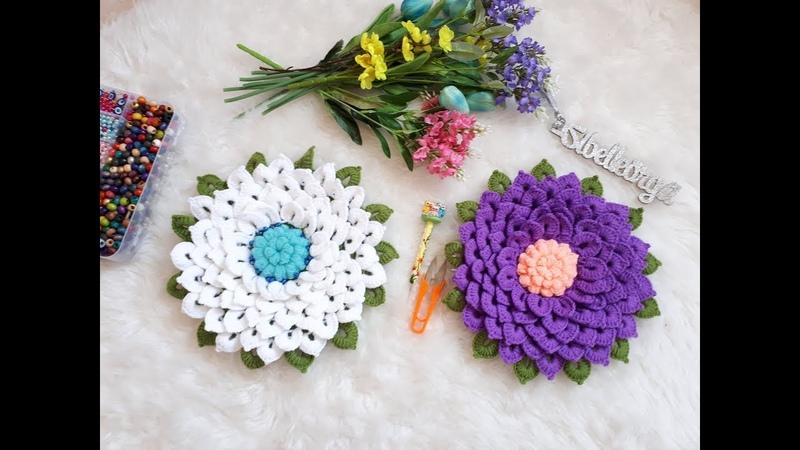 Nilüfer Çiçeği Lif Modeli (Sibel Öztürk Tasarımı)