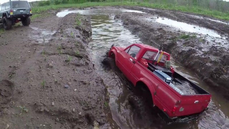 [RC Buyer TV] Сравнительный тест-драйв RC4WD Trail Finder 2 и Axial SCX10 2