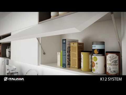 Газовые лифты K12, Italiana Ferramenta