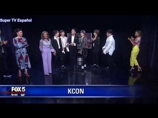Super Junior & Leslie Grace en GDNY