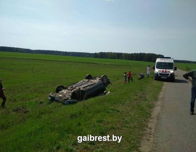 Барановичский район: в ДТП травмирован не пристегнутый пассажир