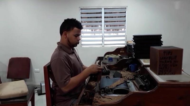 производство сигар в Пунта-Кана