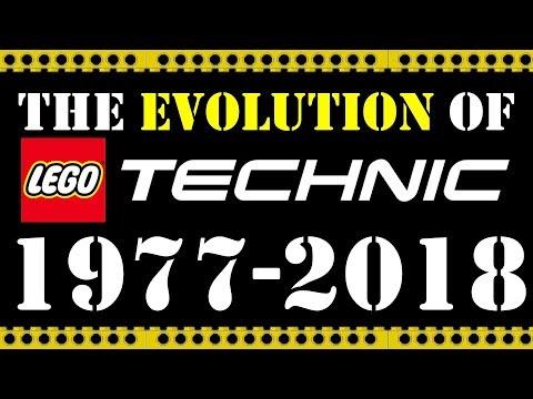 The EVOLUTION of LEGO TECHNIC 1977 2018