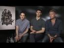 ODE Робин Лорд Тейлор, Кори Майкл Смит, Шон Пертви из «Готэма» раскрывают будущих злодеев 2016