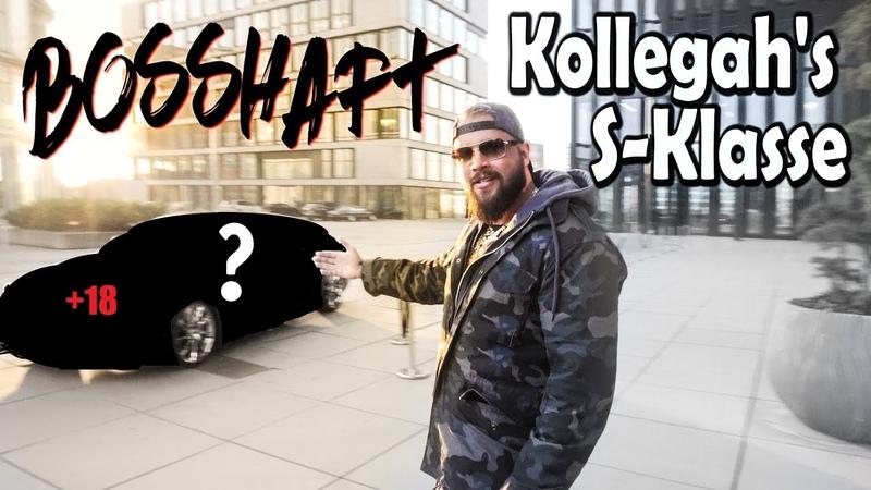 Kollegah bekommt endlich seine Bosshafte S Klasse AMG Folienprinz