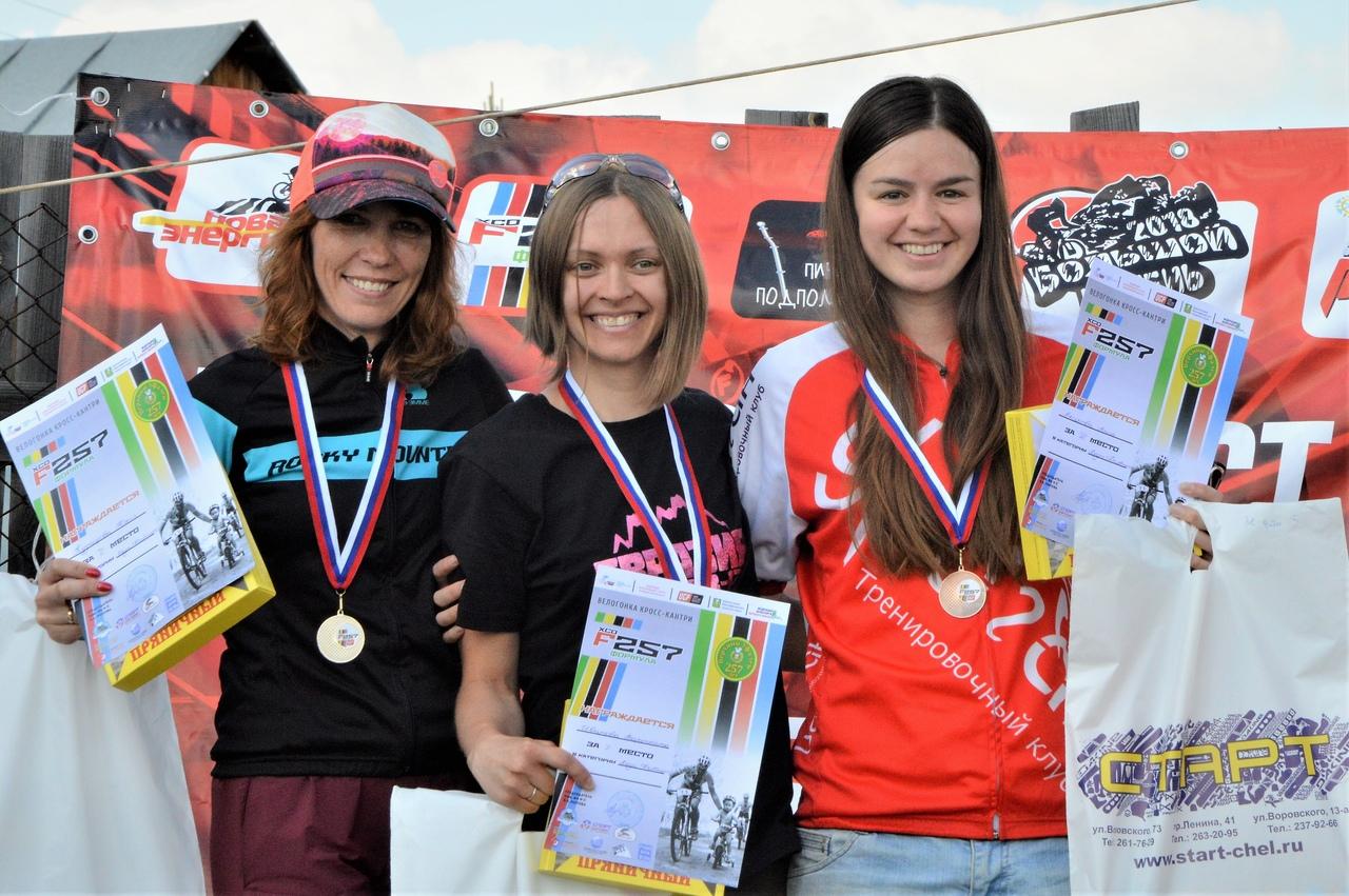 Победительницы категории Фитнес: Юлия Кузнецова, Валя Иванова, Анна Акимова