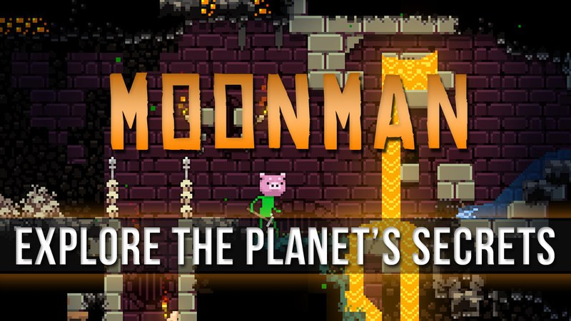 Moonman - Explore the Planet's Secrets!