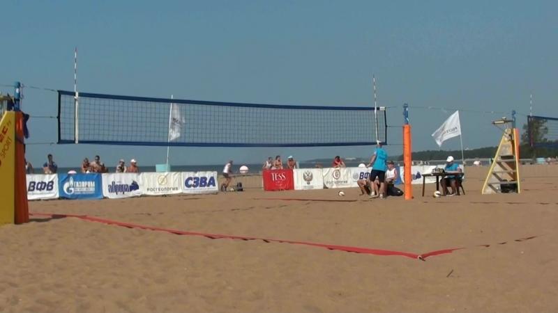 Beach volley Russia Solnechnoe 2018 M 02 Goncharov-Chirkin and Durnin-Golovin