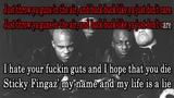 Onyx - Throw ya gunz Karaoke (