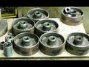 Самодельные колёса для мощного слесарного верстака