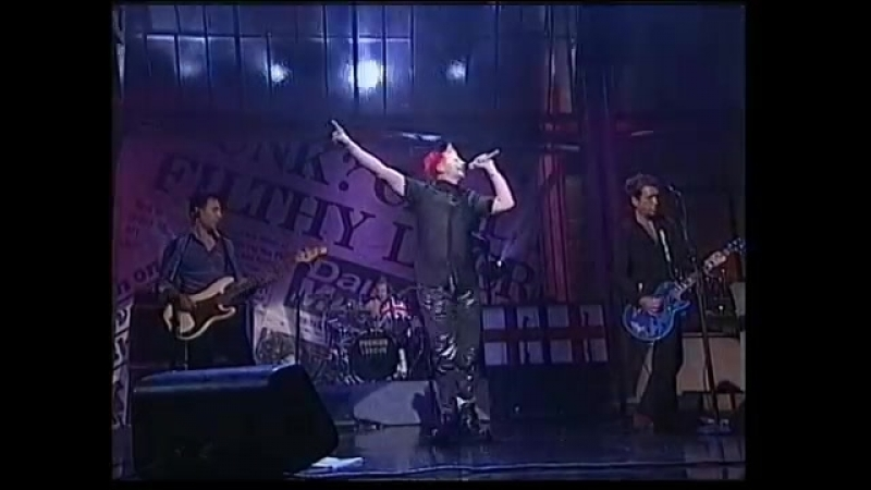 Sex Pistols Pretty Vacant live August 9th 1996 Late Show New York NY  » онлайн видео ролик на XXL Порно онлайн